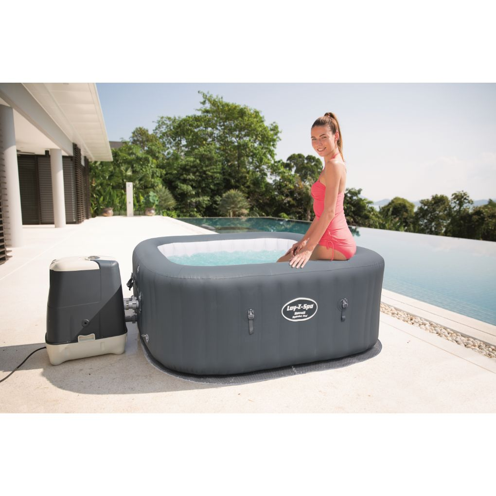 Jacuzzi Inflable Chile.Spa Inflable Hawaii Hidrojet Pro Lay Z Bestway 6 Personas
